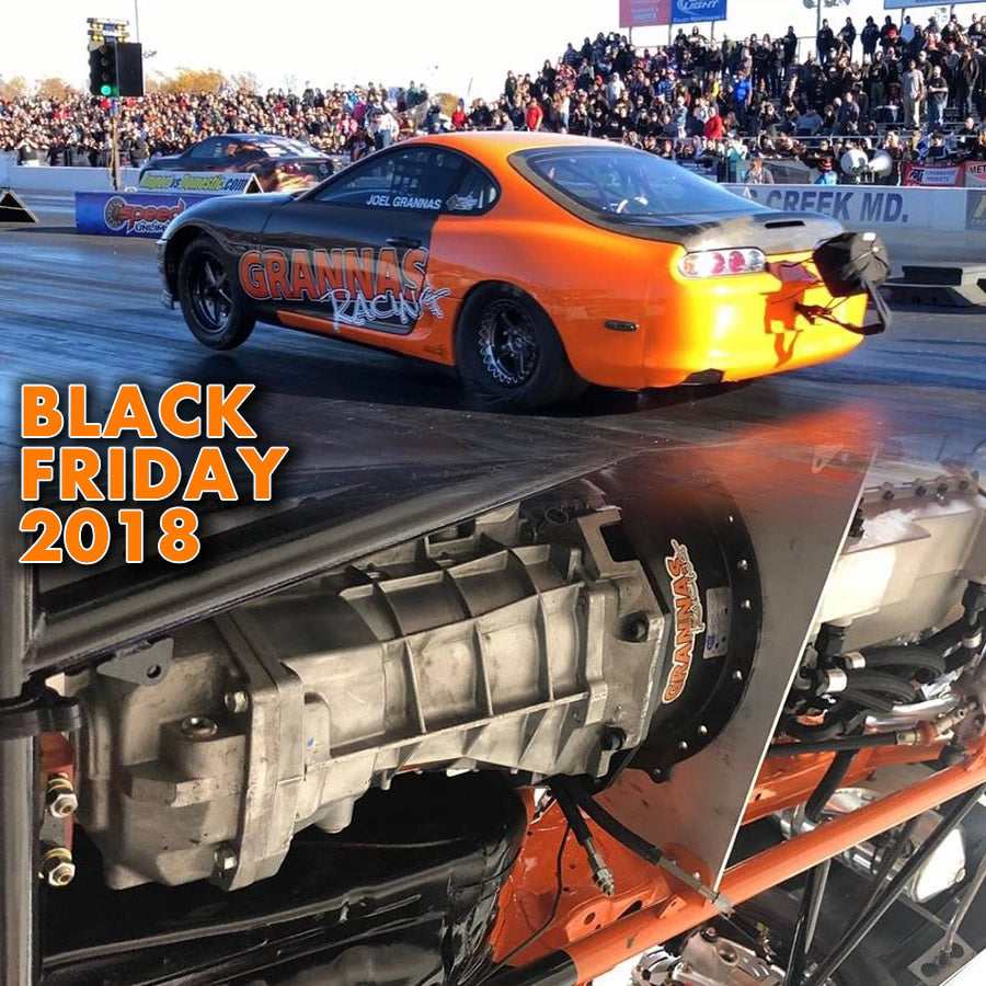Grannas Racing Black Friday Sale 2018