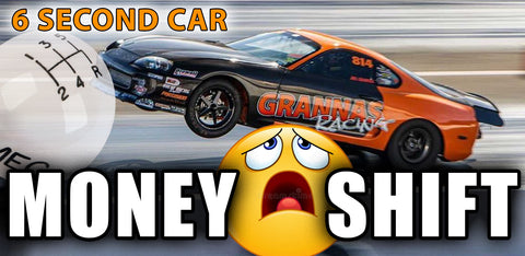 Money Shift supra h-pattern one two one stick car drag racing