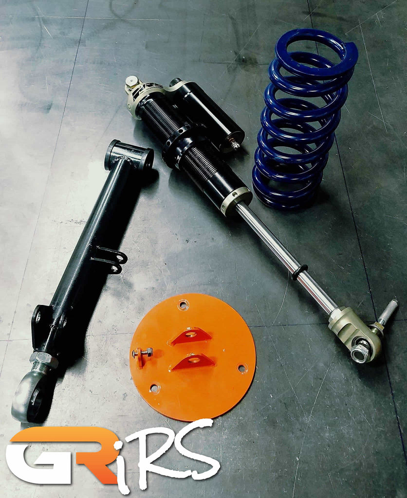 Ultimate IRS - Double Adjustable Coilover Rear Suspension with adjustable rear lower control arms for Supra/SC300