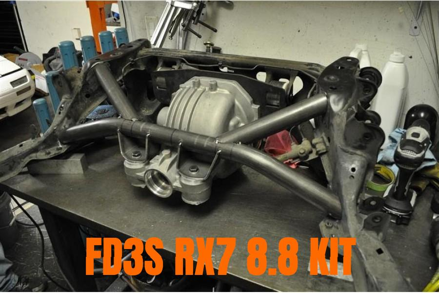 Mazda RX7 FD3S Ford 8.8 IRS rear end differential LSD kit