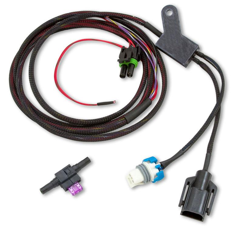 T56 Magnum wiring harness with bluetooth speedometer and lockout control
