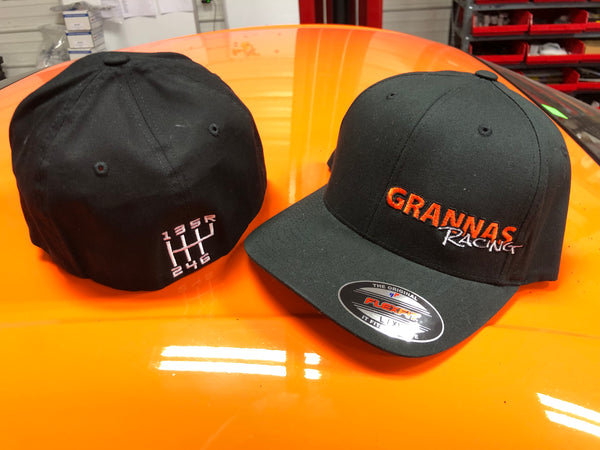 Grannas Racing 6-speed h-pattern hat baseball cap embroidered