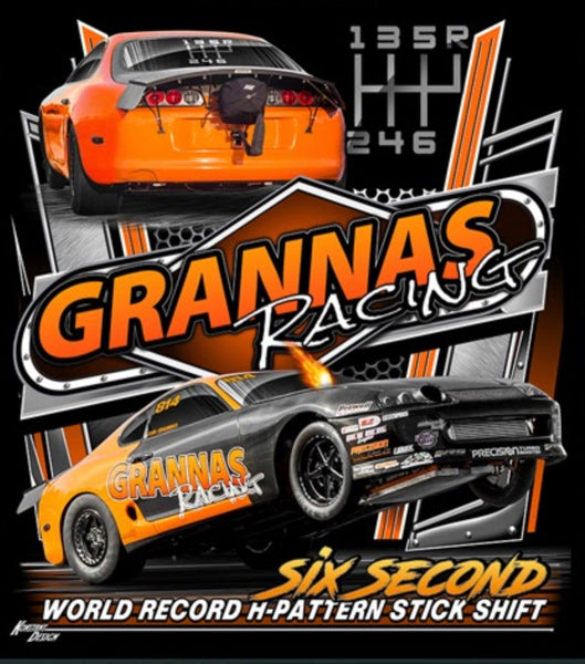 "WORLD RECORD ""Six Second"" Supra Hoodie - Grannas Racing"