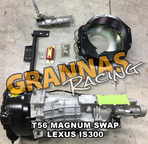 T56 Magnum Lexus IS300 Swap Kit MKIV 2JZ