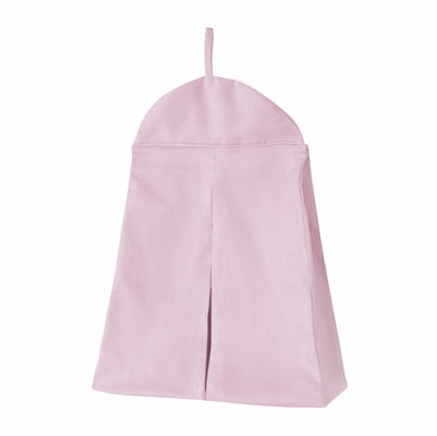 Solid Pink Diaper Stacker
