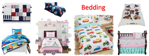 Children's bedding sets, comforters, quilts and duvet covers, crib bedding for babies, toddler bedding sets and more.