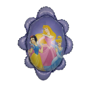 "Disney Princesses Purple Flower-Shaped Jumbo 40"" Party Balloon"