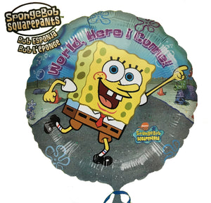 "Spongebob Squarepants Here I Come 18"" Party Balloon"