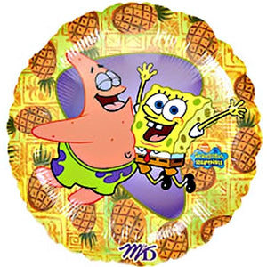 "Spongebob Squarepants & Patrick Pineapples 18"" Party Balloon"