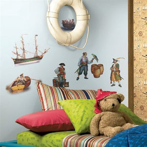 Pirates Wall Stickers Decals Peel & Stick Artistic Room Decor