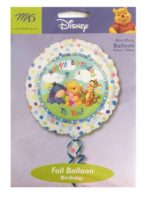 "Winnie The Pooh & Friends Babies Happy Birthday To You! 18"" Party Balloon"