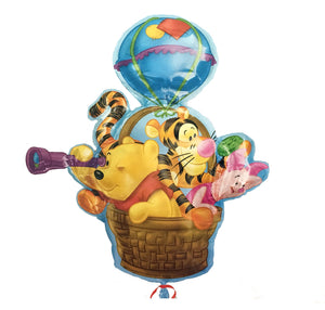 "Winnie The Pooh & Friends Jumbo 36"" Hot Air Party Balloon"