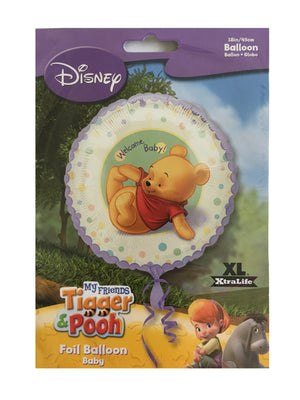 "Winnie The Pooh Welcome Baby! 18"" Baby Shower Party Balloon"