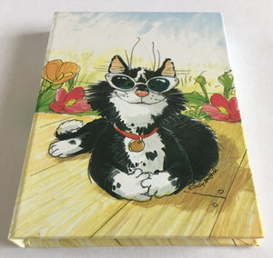 Suzy's Zoo Natasha Black White Cat Pocket Address & Mini Note Book