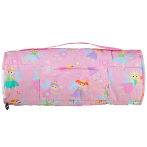 Pink Fairy Nap Mat -Child/Toddler Girl Sleeping Bag