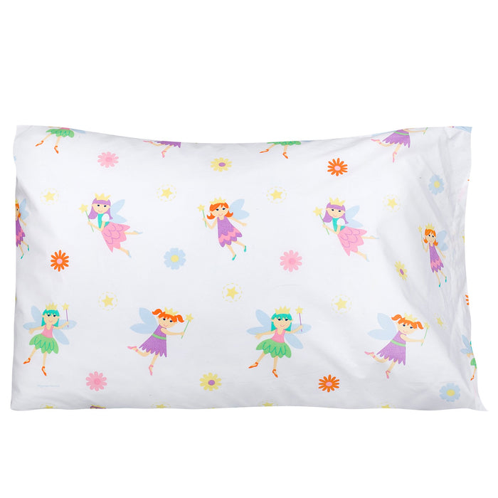 "Fairy Princess Cotton Pillowcase 20"" x 30"""
