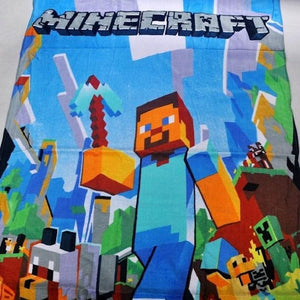 "Minecraft Team Bath Towel 28"" x 55"""