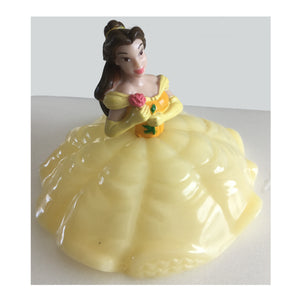 Belle Beauty and The Beast Cake Topper - Shown with No Light