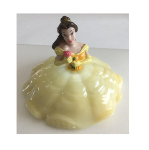 Belle Beauty and The Beast Cake Topper - Shown with Light