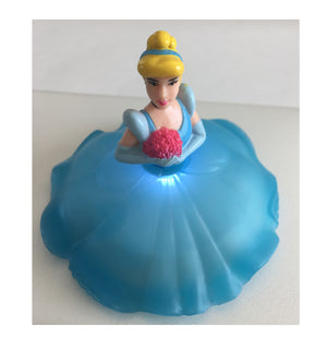 Cinderella Cake Topper - Shown with Light