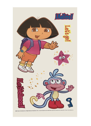 Dora The Explorer Wall Decals Stickers Jumbo Peel and Stick Stickups