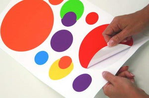 Multicolor Just Dots Peel & Stick Wall Decals Polka Dot Stickers
