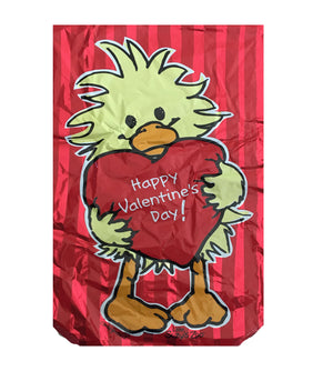 "Little Suzy's Zoo Witzy Duck Happy Valentine's Day Love Heart-Shaped 18"" Party Balloon"