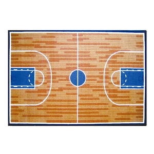 Basketball Court Sports Rugs Small Medium or Large