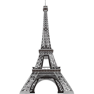 Paris France Eiffel Tower Wall Art Mural Peel & Stick Decals 56""