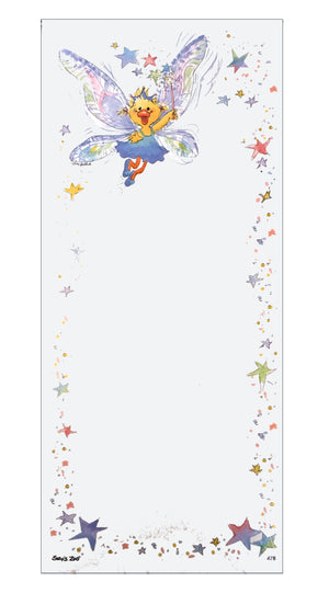 "Suzy's Zoo Polly Fairy Magnetic Memo Note Pad 4"" x 9"""