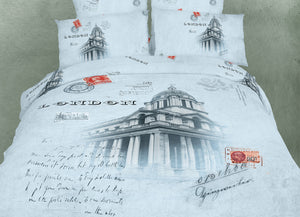 London Bedding Twin Queen King Duvet Cover Set Designer Ensemble