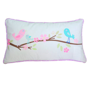 Birds Lumbar Pillow