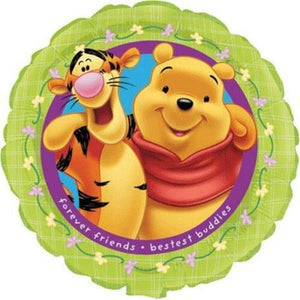 "Winnie The Pooh & Tigger Friends Forever 18"" Party Balloon"