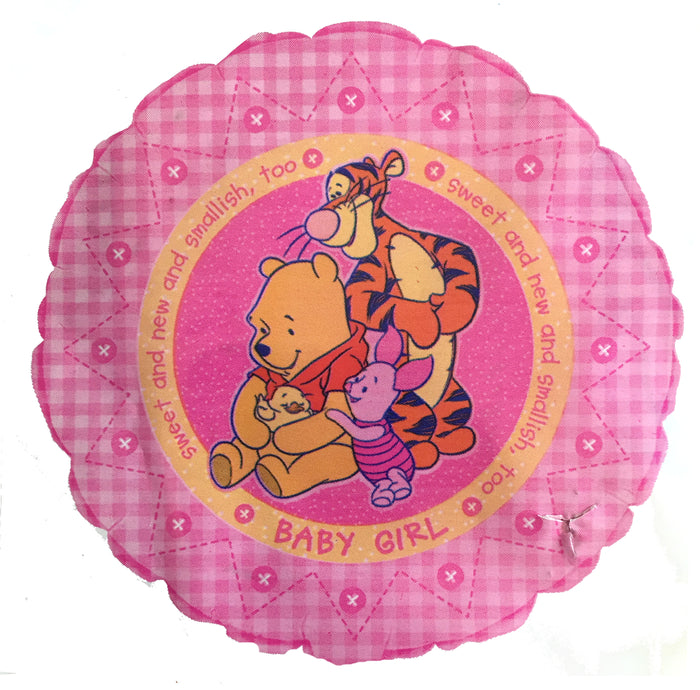 "Winnie The Pooh Sweet New Baby Girl 18"" Party Pink Balloon"