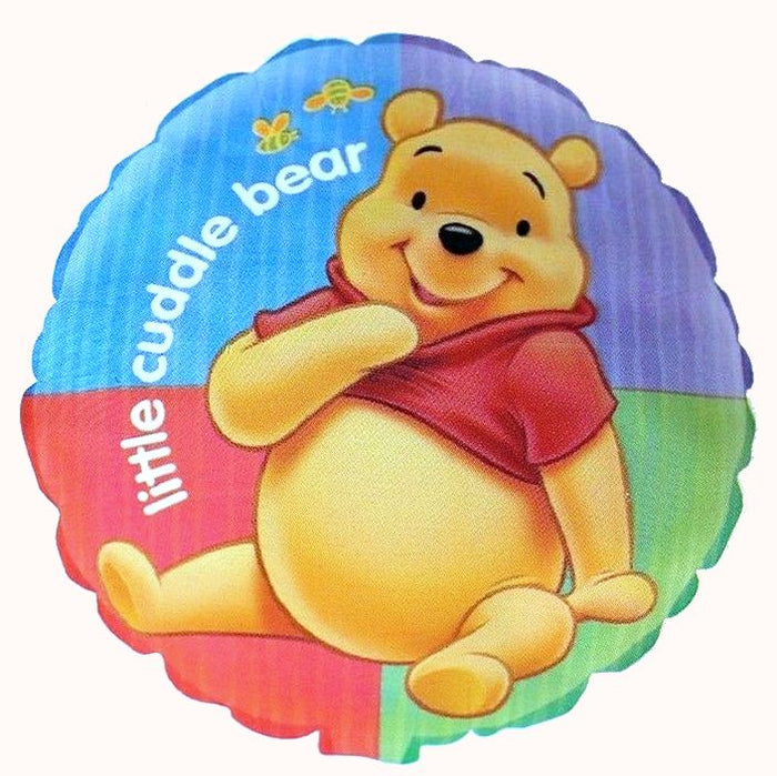 "Winnie The Pooh Little Cuddle Bear Baby Shower or New Baby 18"" Party Balloon"