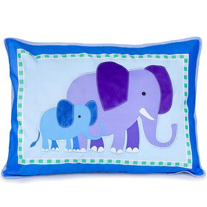 Endangered Wild Animals Pillow Sham Olive Kids