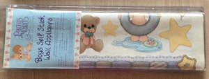 "Precious Moments Baby Boy Wall Stickers Decals 26"" x 20"" Sheet Peel and Stick"