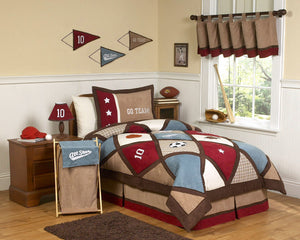 All Star Kids Sports Boys Bedding Twin Full/Queen Comforter Set
