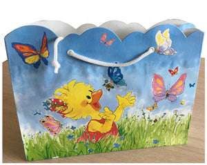 Suzy's Zoo Suzy & Polly with Butterflies Large Gift Bag