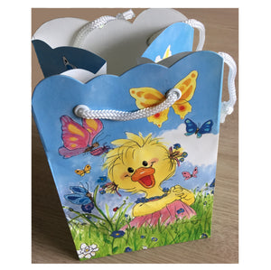 Suzy's Zoo Suzy & Polly with Butterflies Small Gift Bag