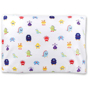 "Alien Monsters Microfiber Kids Pillowcase 20"" x 30"""