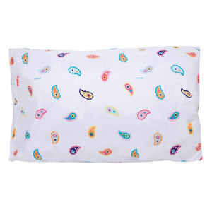 "Paisley Floral Microfiber Kids Pillowcase 20"" x 30"""