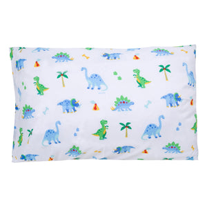 "Dinosaur Land Microfiber Kids Pillowcase 20"" x 30"""
