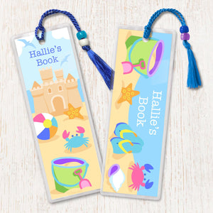 Summertime Personalized 2 PC Bookmark Set