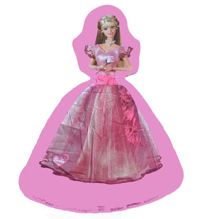 "Glamour Princess Barbie Jumbo Giant Super-Shape 40"" Birthday Party Balloon"