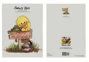 Suzy's Zoo Collectible Coloring Book Camp Mudpuddle