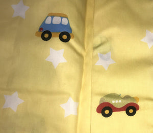 Transportation Cars Trucks Kids Boys Bedding Twin Duvet Cover Set Yellow