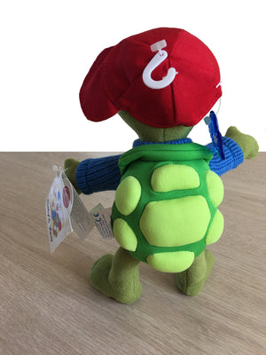 "Suzy's Zoo Corky Turtle Poseable Collectible Plush Toy 9"" by Applause"