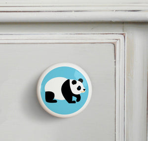 Panda Ceramic Drawer Knob