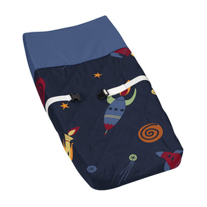Space Galaxy Baby Changing Pad Cover